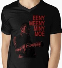 Eeny Meeny ... T-Shirt mit V-Ausschnitt für Männer