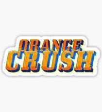 Orange Crush Sticker