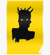 "Basquiat ""Self Portrait"" Poster"