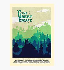 The Great Escape Photographic Print
