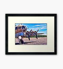 Flying History Framed Print