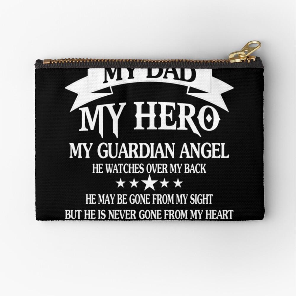 Daddy My Dad My Hero Studio Pouch By Vickyjackson Redbubble
