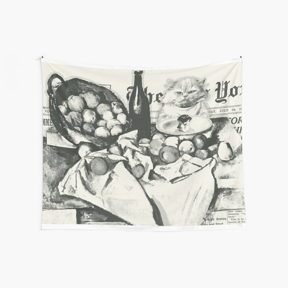 The basket of apples  Wandbehang