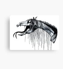 Thestral Canvas Print