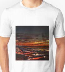 The beach at Sunset (Digital Art) T-Shirt