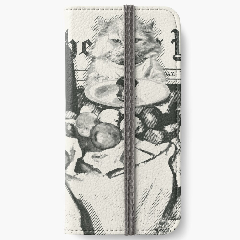 The basket of apples  iPhone Flip-Case