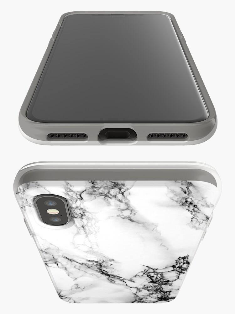 Vista alternativa de Funda y vinilo para iPhone Mármol
