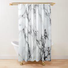 Marmor Duschvorhang