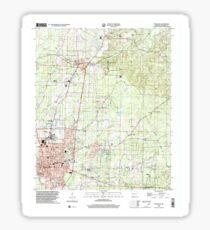USGS TOPO Map Arkansas AR Magnolia 258996 2000 24000 Sticker