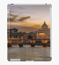 Sunset at the Vatican iPad Case/Skin