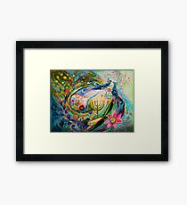 Longing for Chagall Framed Print