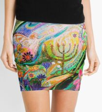 Longing for Chagall Mini Skirt