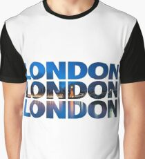London Text Graphic T-Shirt
