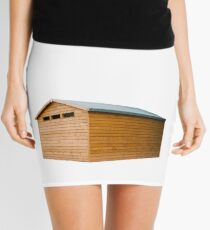 Garden Shed Natural Wood Mini Skirt