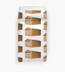 Garden Shed Natural Wood Duvet Cover