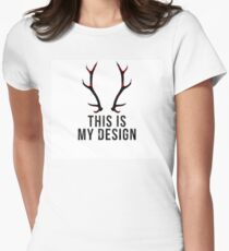 This is my Design. Women's Fitted T-Shirt