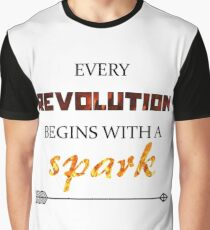 The Hunger Games - Spark  Graphic T-Shirt