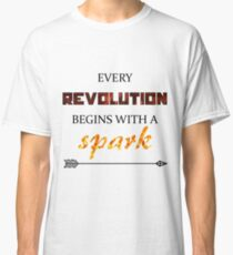 The Hunger Games - Spark  Classic T-Shirt