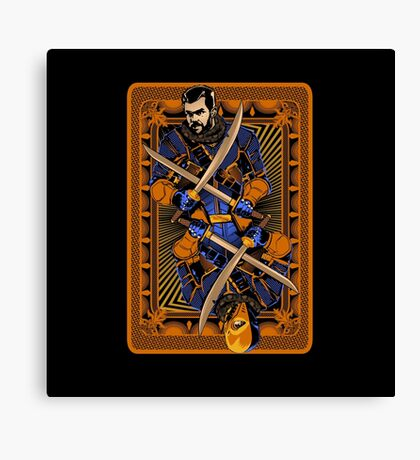The Ace of Slade Canvas Print