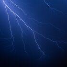 Lightning Strikes by Kenneth Keifer