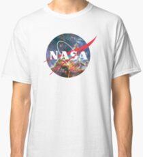 Camiseta clásica Logotipo de la NASA - Hubble, Mystic Mountain
