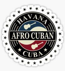 Havana afro cuban cuba Sticker