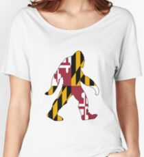 Maryland Bigfoot Women's Relaxed Fit T-Shirt