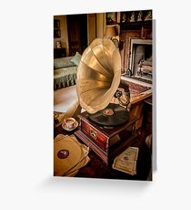 His Master's Voice Greeting Card