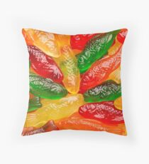 Gummy Fish Throw Pillow