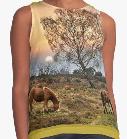 New Forest Ponies Contrast Tank