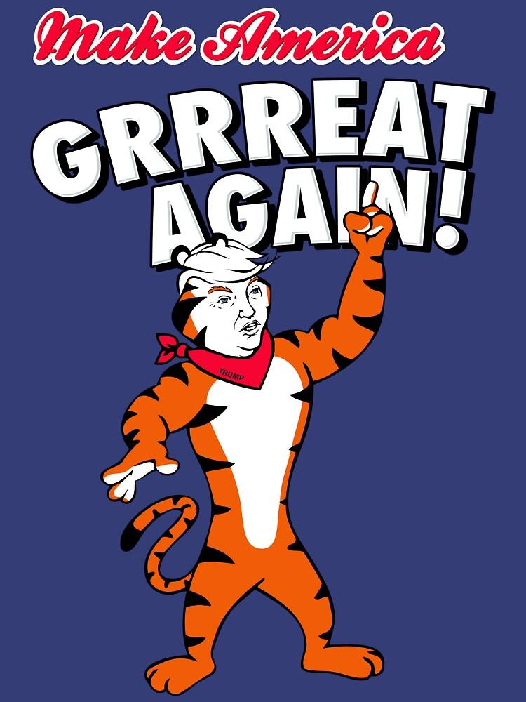 Make America GRRREAT AGAIN! - Trump the Tiger by brandoff