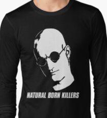 Natural Born Killers - Mickey Knox - White Long Sleeve T-Shirt