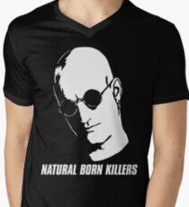 Natural Born Killers - Mickey Knox - White Men's V-Neck T-Shirt