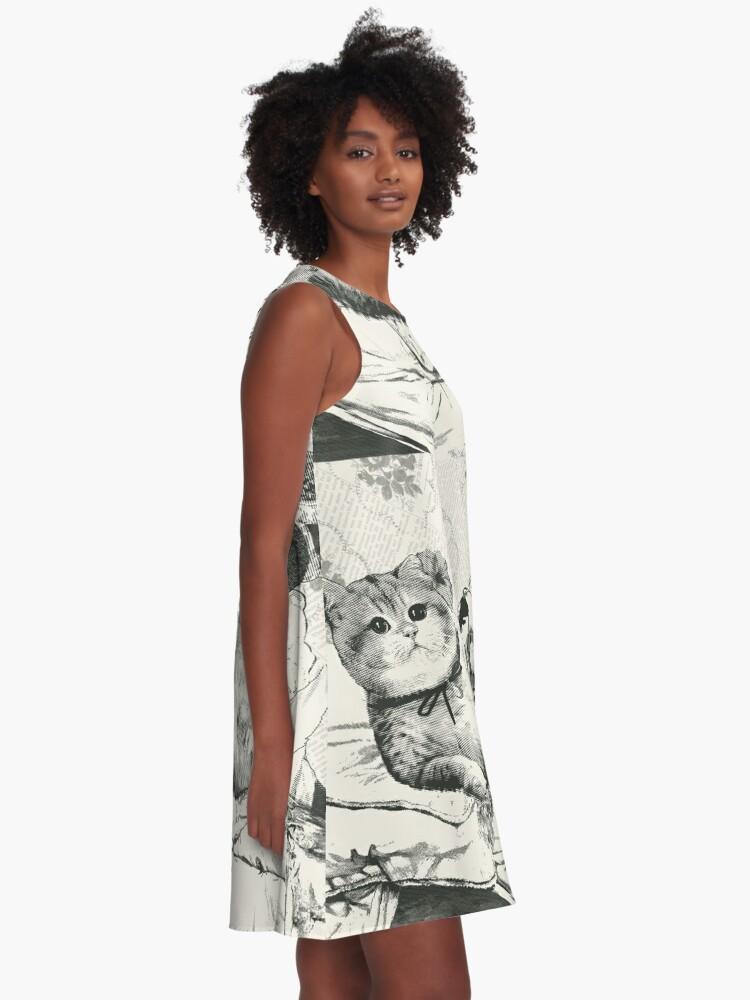 Alternative Ansicht von Olympia A-Linien Kleid
