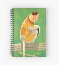 Proboscis Monkey Spiral Notebook