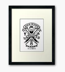 Jack Knife Framed Print