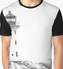 Lighthouse of Peggy's Cove Graphic T-Shirt