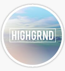Highgrnd - Logo Sticker