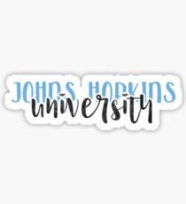 Johns Hopkins University - Style 1 Sticker