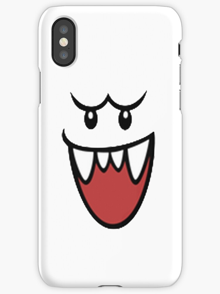 super mario bros boo face iphone cases covers by albertojer16
