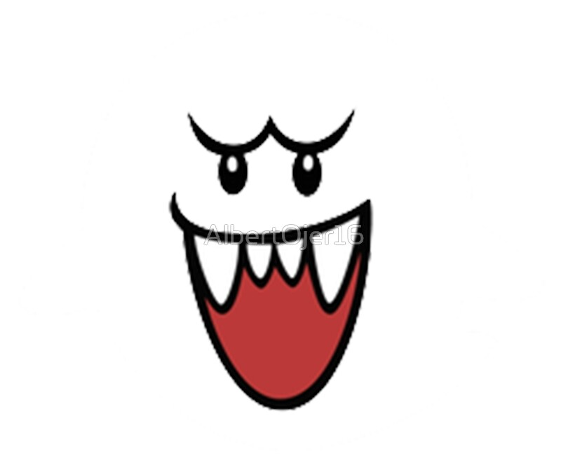Quot Super Mario Bros Boo Face Quot Art Prints By Albertojer16