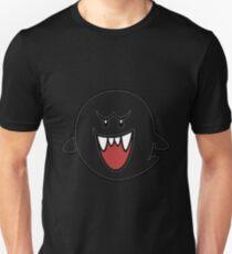 Super Mario Bros Boo Shape Design T-Shirt