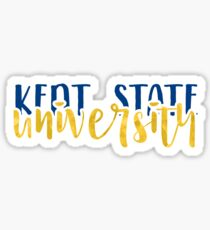 Kent State University - Style 1 Sticker