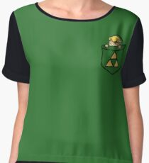 Legend of Zelda - Pocket Link Women's Chiffon Top