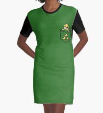 Legend of Zelda - Pocket Link Graphic T-Shirt Dress