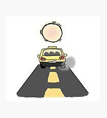Taxi Cab Photographic Print