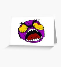 Anger Management Greeting Card