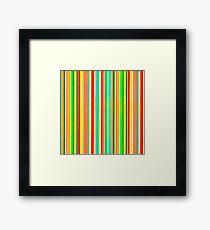 Striped Stripes Framed Print