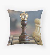 Chess King Throw Pillow