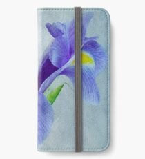 Pretty Blue  iPhone Wallet/Case/Skin
